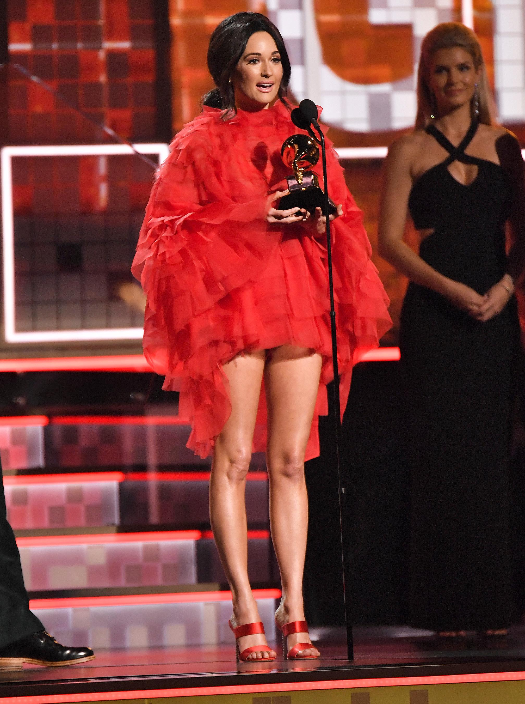 Kacey Musgraves Dedicates Best Country Album Grammy Win to Her 'Sweet'  Husband Ruston Kelly