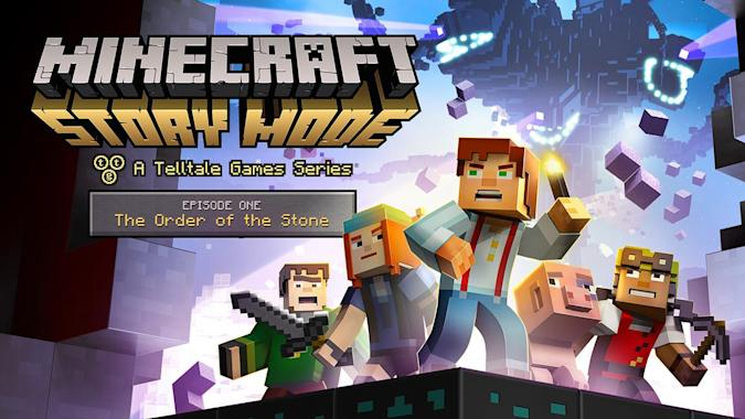 Minecraft's story mode means more action, less dirt farming