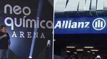 Vitória dos naming rights: Corinthians e Palmeiras 'dobram' emissoras de TV