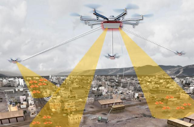 DARPA wants an 'Aerial Dragnet' to monitor urban drone traffic