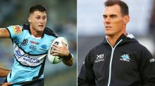 'Very disappointing': Coach yet to speak with Shark over drugs ban