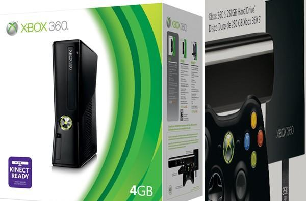 New Xbox 360 4GB's packaging shows off 250GB HDD upgrade option