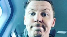 Professor Green accused of 'defending rapists' at Britain First rally