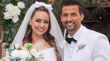 Tim Robards 'marries' rockstar's daughter in Neighbours wedding