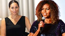 Michelle Obama praises 'thoughtful leader' Meghan Markle