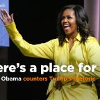 Michelle Obama in response to Trump's comments: 'There's a place for us all'