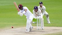 England claim only one wicket in morning session as West Indies stand firm