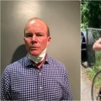 Police Arrest Cyclist In Assault Of Girl Posting George Floyd Protest Signs