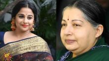 Is Vidya Balan To Play The Role Of J Jayalalithaa In Her Biopic?!