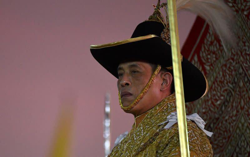泰国国王赞同军方年度改组