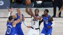 NBA playoffs tracker: Kawhi Leonard dominates for Clippers while Luka Doncic goes down with injury