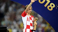 Croatian wins MVP at World Cup despite losing final to France
