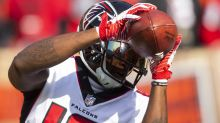 Former Falcons WR Mohamed Sanu released by the Patriots