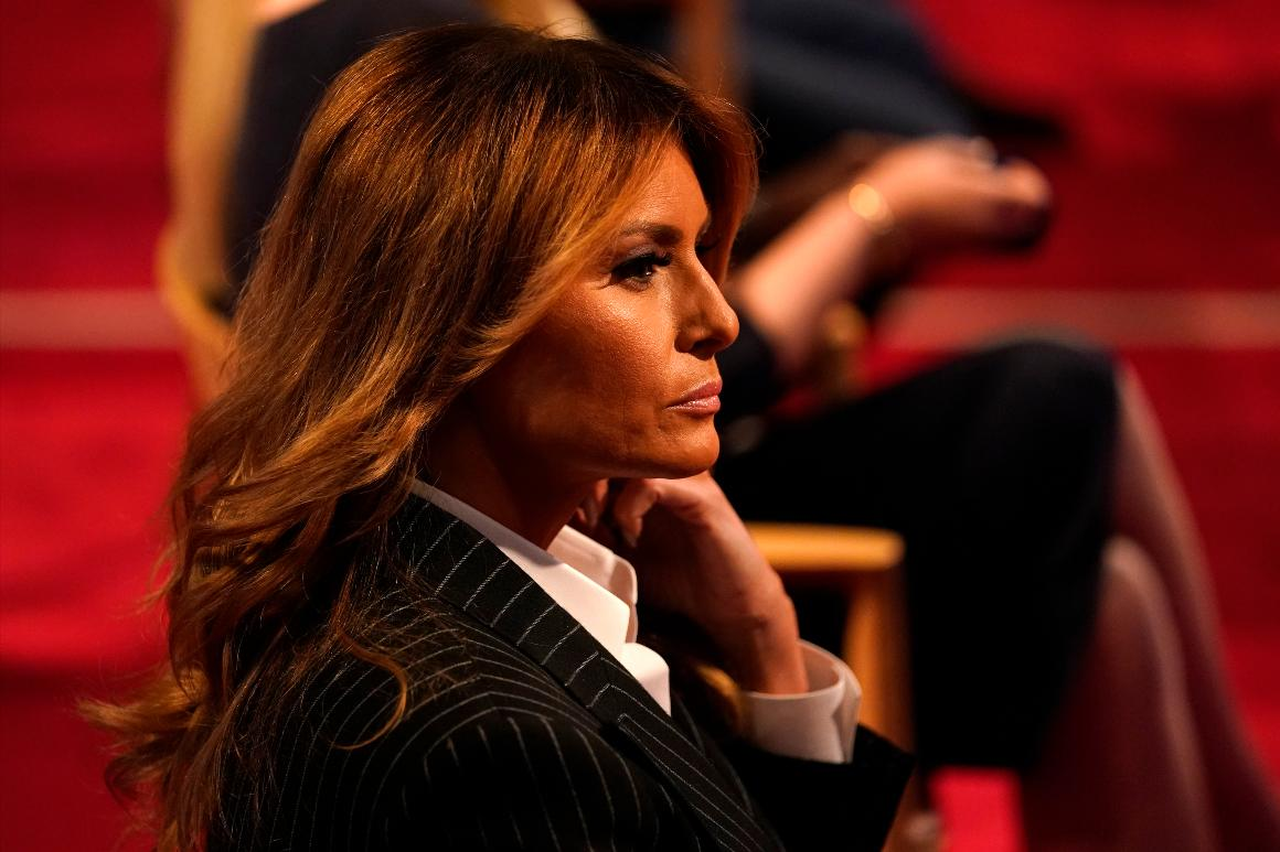 Melania Trump rips former adviser's tell-all as 'an attempt to be relevant'