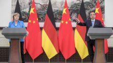 Kanzlerin Merkel agiert beim Treffen mit Li zu zurückhaltend