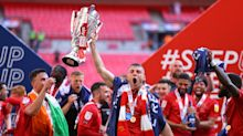 Morecambe sink Newport to climb into League One amid penalty controversy