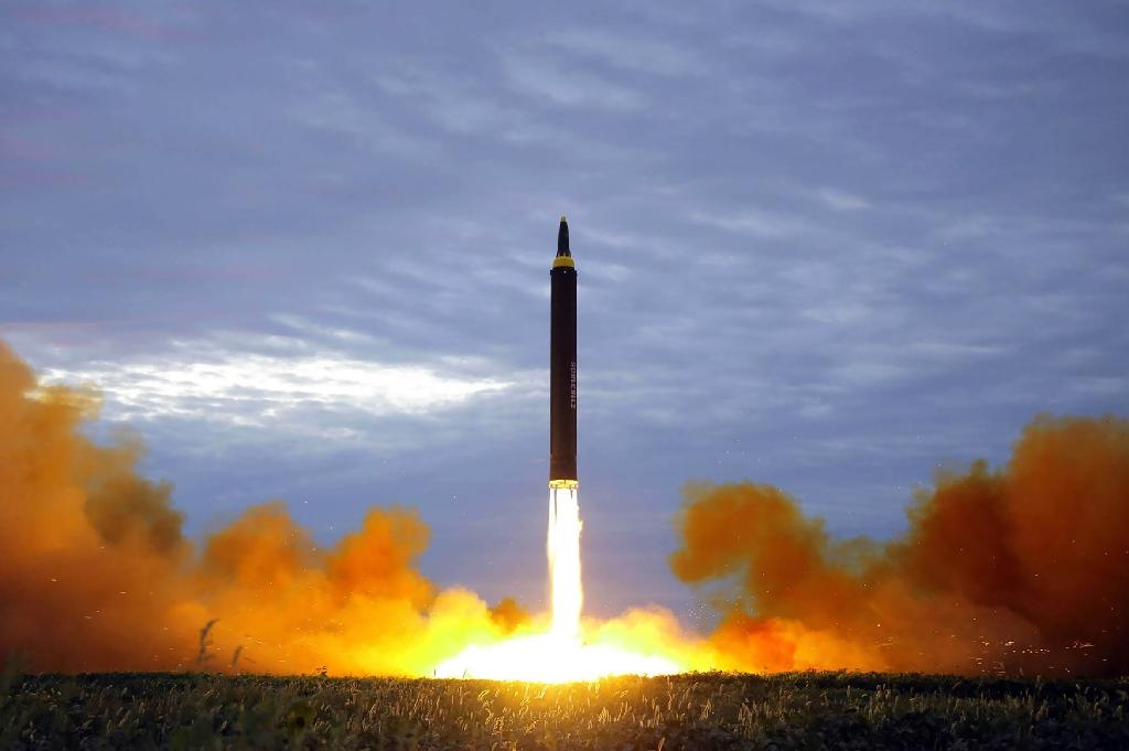 North Korea is under crippling sanctions imposed for carrying out nuclear and ballistic missile tests, but UN resolutions specify that these should not affect humanitarian aid (AFP Photo/STR)