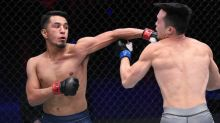 It took Adrian Yanez just 39 seconds to realize his UFC dream