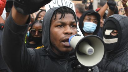 'Star Wars' actor John Boyega delivers empowering speech during protest: 'Pure passion'