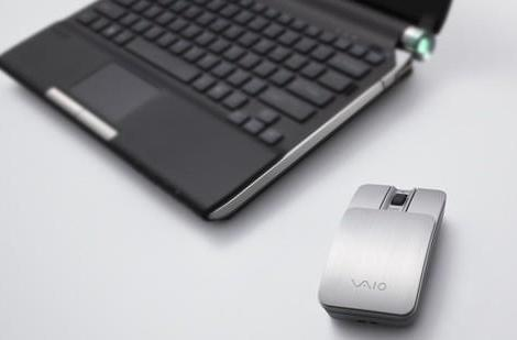 Sony Japan's aluminum VGP-BMS10 Bluetooth laser mouse