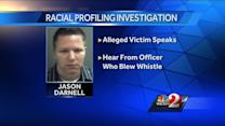 Evidence released in officer's racial profiling case