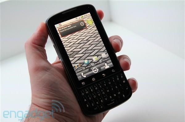 Motorola Droid Pro, first hands-on! (update: video!)