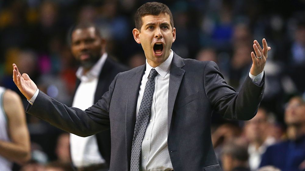 Celtics coach Brad Stevens tired of talking about Indiana job speculation