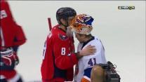 Capitals and Islanders shake hands