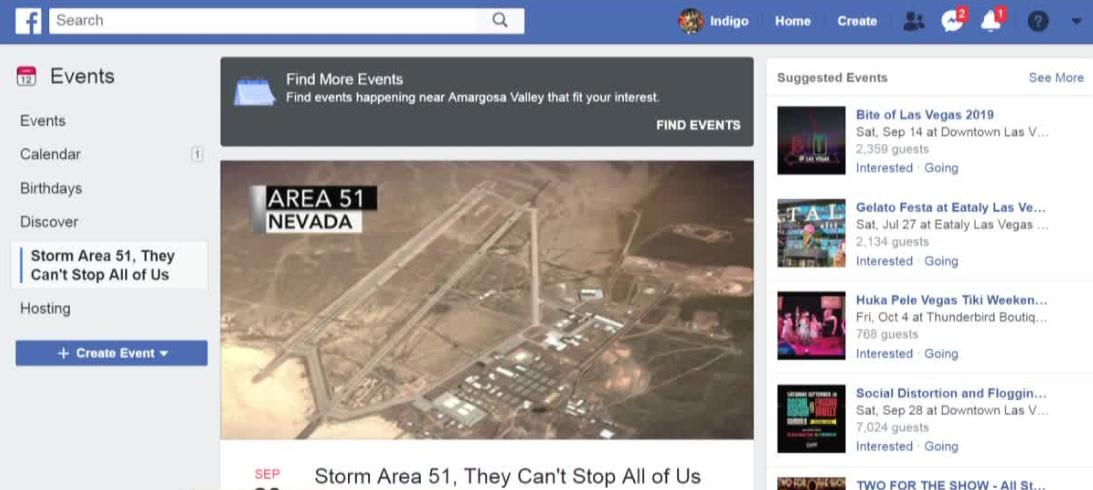 facebook event storm area 51