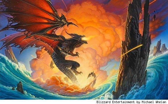 Interview: Fantasy art legend Michael Whelan relates his vision of Deathwing