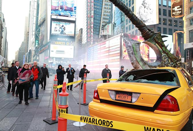 WoW's Iron Horde declares war on Times Square
