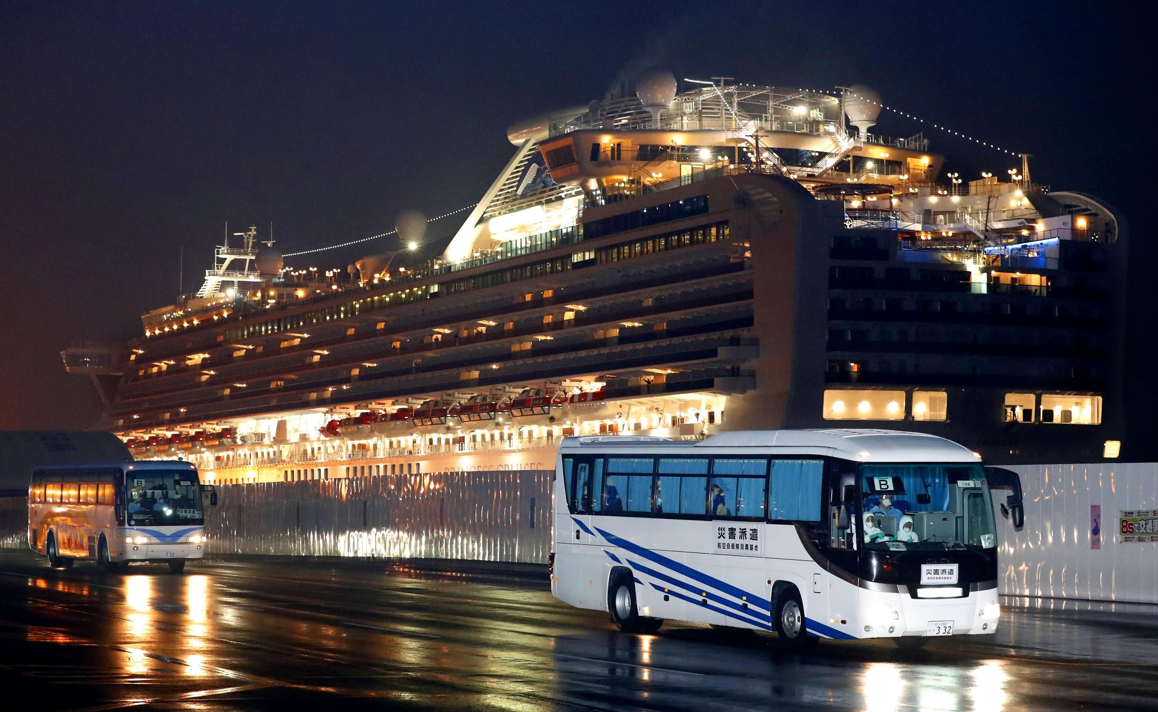 Coronavirus: Nearly 500 To Leave Quarantined Japan Ship On Wednesday