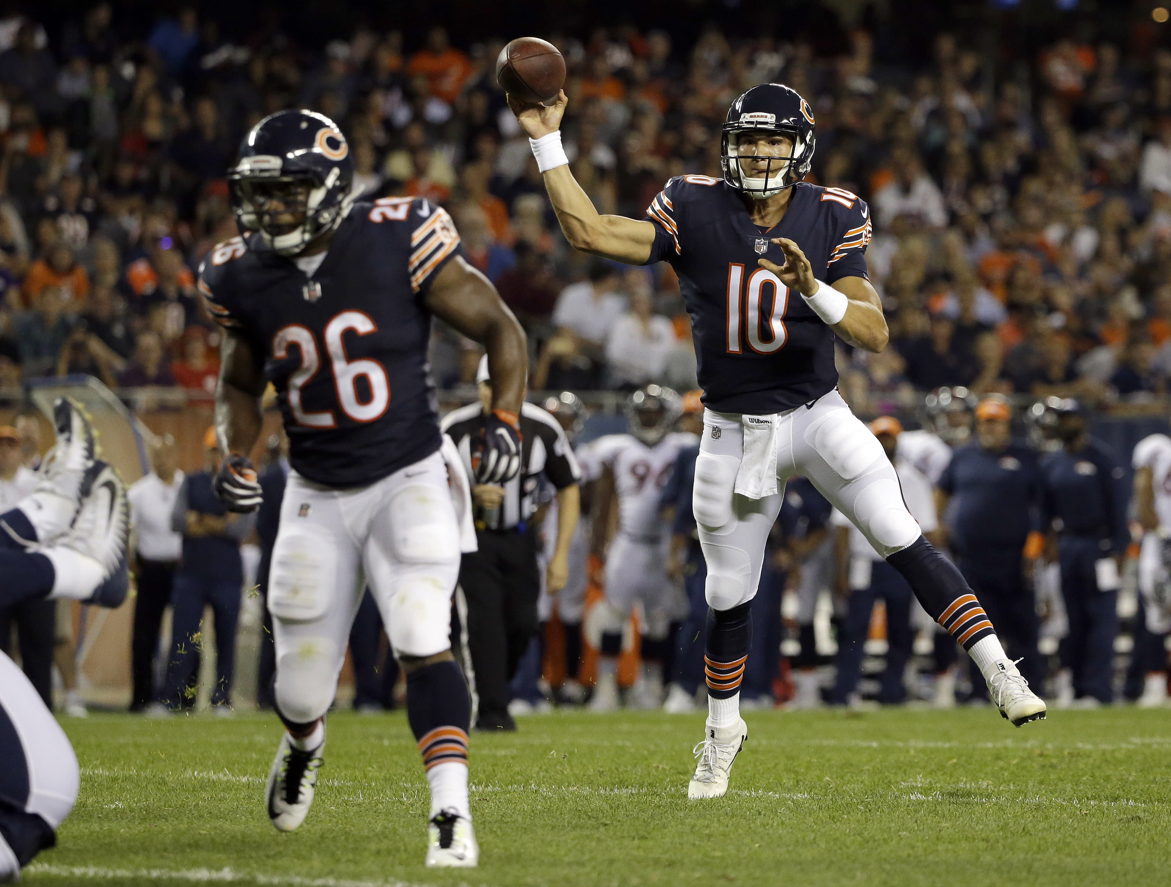 Six players to watch: What will Mitch Trubisky do for an encore?
