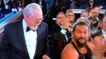Jason Momoa wore a vest to the Golden Globes and delighted the internet in the process