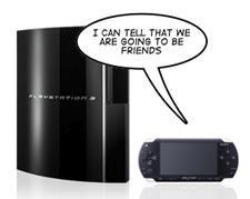 Connecting a PSP and PS3