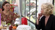 Ana Maria Braga deixa Isis Valverde em saia-justa ao revelar segredo de 'Amor de Mãe'