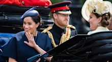 Meghan Markle reveals new 'push present' ring since birth of baby Archie at Trooping the Colour