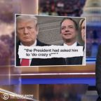 Trevor Noah Says It's 'Almost Comforting' That Trump Is 'Too Lazy to Follow Through' With Abuse of Power (Video)