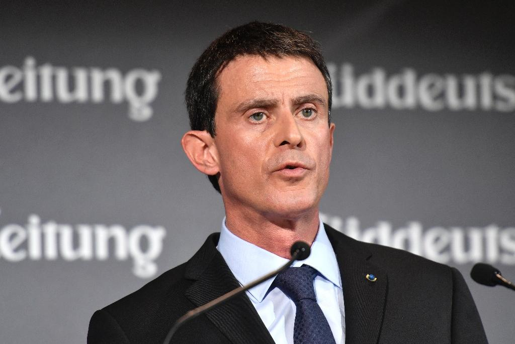 "French Prime Minister Manuel Valls admitted during a visit to Berlin on Thursday that it was ""possible"" that Marine Le Pen could win next year's French presidential election (AFP Photo/John MacDougall)"
