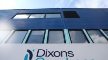 Dixons Carphone first-half profit plunges, maintains forecast as mobile turnaround on track