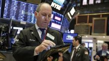 Dow, S&P 500 eke out record highs, turn up after Fed Powell report