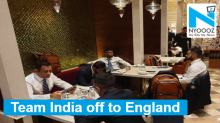 ICC World Cup 2019: Team India leaves for England