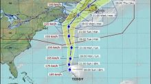 Teddy forecast to bring heavy rain, wind to parts of Atlantic Canada