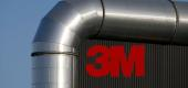 The logo of 3M is seen at the 3M Tilloy plant in  France. (Reuters)