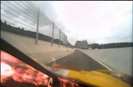 Gigawave in-car HD camera survives trial by fire at 24 Hours of Spa