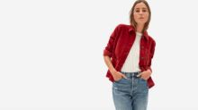 Everlane's new Corduroy Chore Jacket is the perfect transitional coat for fall weather