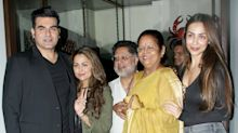 Arbaaz Khan was spotted with Malaika and her family - turns out, they're quite amicable after all