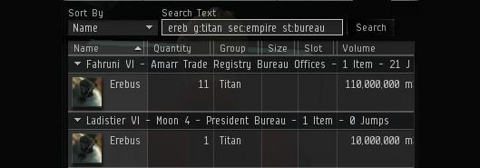 CCP expands EVE's asset search functionality