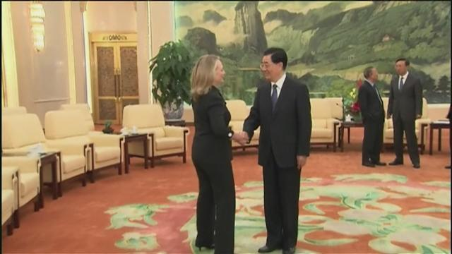 China, US soften tone during Clinton visit