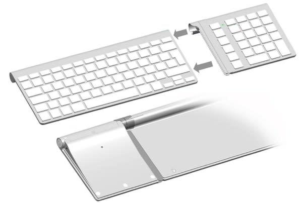 LMP Bluetooth Keypad escapes all pretense, wants to befriend your Apple Keyboard